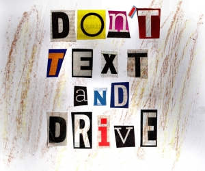 no text and drive