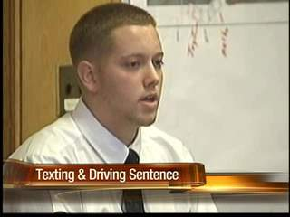 Teenager sentenced to one year in prison for texting while driving