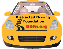 Distracted Driving Foundation Car