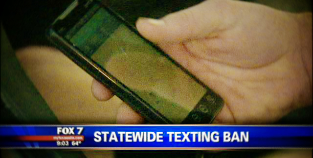 Texas Attempting to Ban Texting While Driving (Again)
