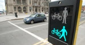 pedestrian bike